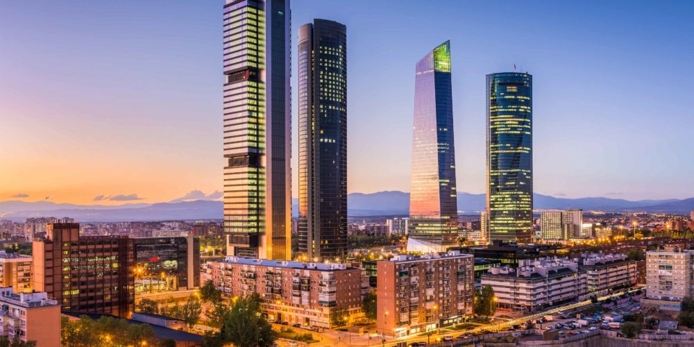 madrid-spain-skyline